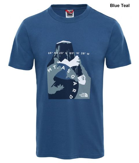 The North Face Mens Flash Tee - Cotton T-Shirt - Crew Neck